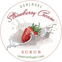 Strawberry Cream Sugar Scrub | Imperial Sugar Recipe
