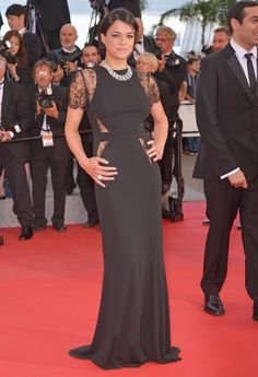 The Best of the 2015 Cannes Film Festival Red Carpet - Michelle Rodriguez from #InStyle