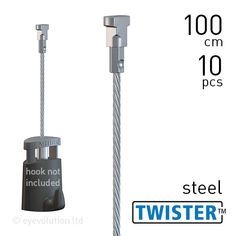 Artiteq Twister 2mm Steel 10pcs