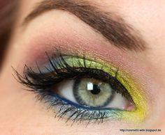 ... noch ein Make up Blog ...: Make up am Rosenmontag