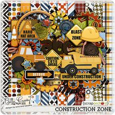 Construction Zone by Bella Gypsy at ScrapOrchard.com. Date of Purchase: 4/30/2015