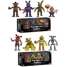 "Funko Five Nights at Freddy's 4 Figure Pack(1 Set) 2"" Chica Freddy Foxy Figure - $21.98 -If this was a gift, who would you gift it too...tag them #me #originaltoys #christmastoys #picoftheday #earlylearningtoys #birdtoys #diykidstoys #girl #toysoldier #memories #instacool #reminisce #funny #amazing #instatoys"
