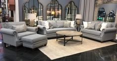 It's not too late to incorporate The Jasper Living Room Collection into your home just in time for your Christmas guests! Plenty of comfortable seating space and a stunning transitional style will impress your loved ones while the Made in America quality means that you can count on this collection to serve as the perfect host for many future holiday gatherings. Don't forget to take advantage of our same-day delivery service so you can enjoy this look in your home TODAY!