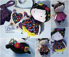 Tilda Toy, Toy Boxes, Clothing Patterns, Hello Kitty, Plush, Cushions, Disney Princess, Sewing, Disney Characters