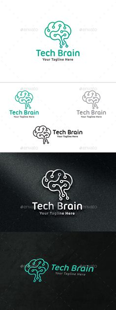 Tech Brain Logo Template Vector EPS, AI. Download here: http://graphicriver.net/item/tech-brain-logo/13945484?ref=ksioks