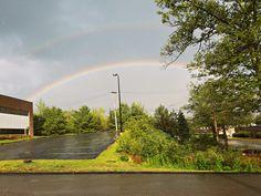 https://flic.kr/p/KZe1jS | Double Rainbow (Marlborough, Massachusetts) | Had to…
