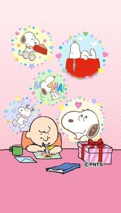 Charlie Brown and Snoopy Snoopy Christmas, Charlie Brown Christmas, Peanuts Cartoon, Peanuts Snoopy, Snoopy Cartoon, Charlie Brown Characters, Snoopy Family, Charlie Brown Y Snoopy, Cute Bear Drawings