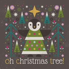 Carly Watts Art & Illustration: Oh Christmas Tree!