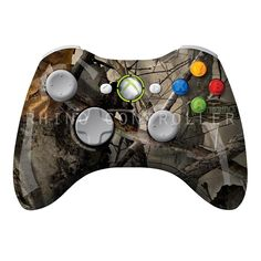 XBOX 360 controller Wireless Glossy Custom Painted- Without Mods Xbox 360 Controller, Custom Paint, Camouflage, Military Camouflage, Camo, Military Style