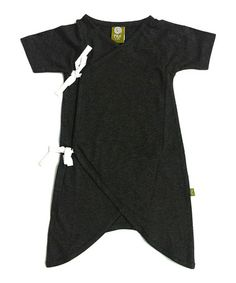 Take a look at this Charcoal Hadagi Organic Gown - Infant by Nui Organics on #zulily today!