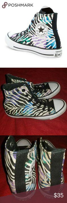 Women's Converse Black White Vio Excellent Conditon! Worn Once Converse Shoes Sneakers