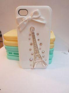 BinnBox's Blog: White Eiffel Tower iPhone Case for Girls