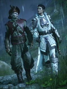 """I love you (my) heart"" said Solas in elven to Lavellan, the Elven Inquisitor. Best romance of Dragon Age Inquisition (here there be spoilers for the game) Cole Dragon Age, Vampire Masquerade, Alien Isolation, Grey Warden, Female Armor, Dragon Age Inquisition, Ps4 Games, Character Reference, Bioshock"