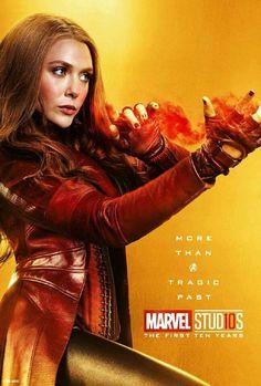 Marvel Studios More Than A Hero Poster Series Scarlet Witch Marvel Comics, Heros Comics, Bd Comics, Marvel Films, Marvel Heroes, Captain Marvel, The Avengers, Marvel Universe, Disney Marvel