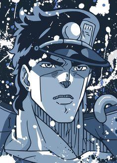 Jotaro Kujo naruto Jotaro Kujo, Jojo Bizarre, Jojo's Bizarre Adventure, Pop Art, This Is Us, Poster Prints, Metal, Naruto, Anime