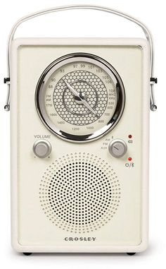Crosley Mockingbird Vintage Portable AM/FM/Bluetooth Radio, White Sand Radios, Bluetooth, Pool Floats For Adults, Pool Shade, Beach Bag Essentials, Pool Umbrellas, Pocket Radio, Mothers Day Gifts From Daughter, Sun Hats For Women