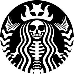 Starbucks Skeleton Fete Halloween, Halloween Pumpkins, Halloween Crafts, Halloween Decorations, Halloween Stencils, Halloween Labels, Halloween Halloween, Vintage Halloween, Halloween Makeup