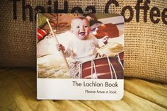 oh goodness, this customized baby book is seriously sweet. I might need to do one with pics of distant relatives so the baby learns who the important folks are!