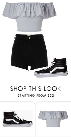"""""""Untitled #282"""" by itsayak on Polyvore featuring Vans, Miss Selfridge and River Island"""
