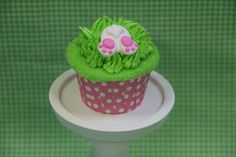 Cute bunny tail royal icing pieces...