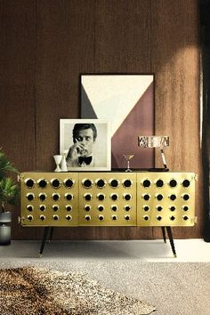 JAMES BOND INSPIRED, THIS SIDEBOARDS WAS DESIGNED BY DELIGHTFULL WWW.DELIGHTFULL.EU - CHECK OUT 10 BEST MODERN CONSOLE TABLES FOR LUXURY INTERIOR DESIGN PROJECT  at http://www.homedesignideas.eu/best-modern-console-tables-luxury-interior-design-project/