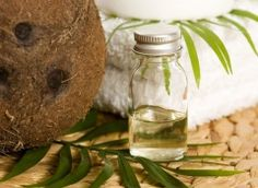 Kokosnussöl für alternative Therapie
