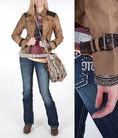 """Heavy Metal""  #buckle #fashion  www.buckle.com"
