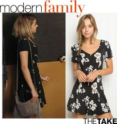 Brandy Melville Jacky Dress inspired by Haley Dunphy in Modern Family | TheTake.com