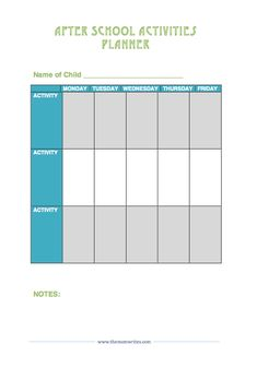 7 Free Printables to Organize your life - The Mom Views