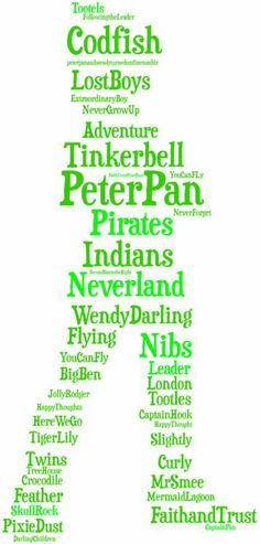 Peter Pan (they spelled tootles wrong)