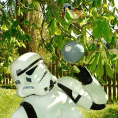 Star Wars: Death Star Birdhouse