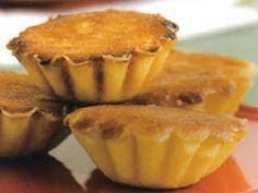 Receita Sobremesa : Queijadas de requeijão (Beja)