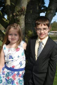 Cousins: Paige and Ben