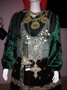 Albanian Traditional Costume, Luljeta Dano Collection, Tirana, Albania   by David&Bonnie