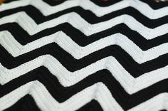 chevron crochet afghan pattern  My grandma made me one of these when I was little!                                                                                                                                                                                 More