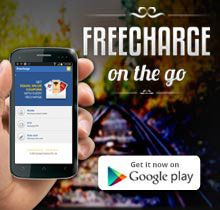 Recharge your prepaid Mobile, DTH and Datacard with these latest Freecharge offers and get equal value Coupons of various brands.