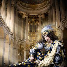 The Royal Dozen. Louis XIV – The Sun King (1638–1715) Photographer: Alexia Sinclair