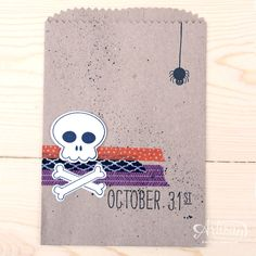 Howl-O-Ween Treats - Stampin' Up! Artisan Blog Hop / Create with Kaitlyn