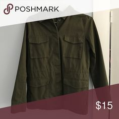 Army Jacket Army Green Forever 21 Jacket, worn once. Forever 21 Jackets & Coats Utility Jackets