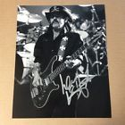 Motorhead Lemmy Kilmister Signed Autographed 8x10 Photo  SALE