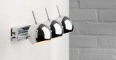 Austin Wandlampe, Chrom ► Moderne Design-Leuchten in vielen Styles! Entdecke jetzt die neuesten Lampentrends bei MADE.