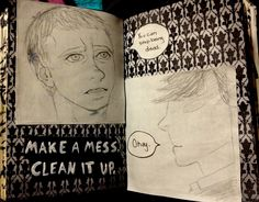 Wreck This Journal - Make a mess clean it up - Sherlock