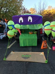 Ninja Turtle trunk or treat