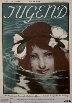 JUGEND MAGAZINE, August 28, 1897