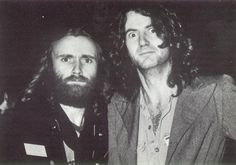 Phil Collins and Peter Hammill