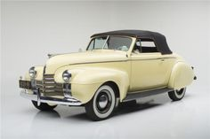 1940 Oldsmobile Special 60 Convertible