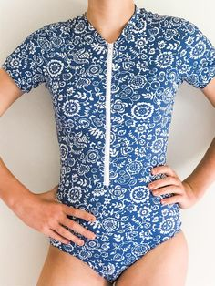 The Stinger Bodysuit makes the perfect garment for sun protection this summer. It will also keep your little swimmer warmer in the water longer. It is a comfortable, skirted bodysuit with the option of sleeveless, short , 3/4 or long sleeves. This is a complete outfit for a day out where there is water such as, waterparks, swimming in the pool or a day out at the lake or beach. Youth sizes available in 1-14. Little Swimmers, Complete Outfits, Sun Protection, Knitted Fabric, Cover Up, Youth, Bodysuit, Swimming, Crop Tops