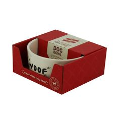 """Woof"" Dog Bowl Eat"
