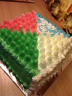 My friend make this b'day cake :)