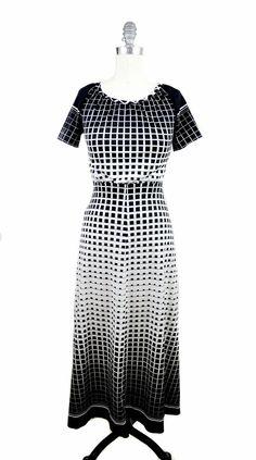 1960s Space Age Dress. $48.00, via Etsy.